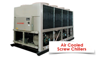 AIR COOLED SCREW CHILLER goldman AIR COOLED SCREW CHILLER goldman