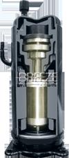 BREEZE DUCTED T3 R410a scroll compressor اسپلیت کانالی سقفی بریز