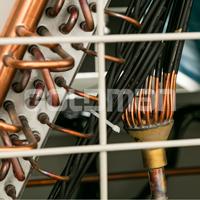 Modular chiller goldman coil چیلر هوایی اسکرال گلدمن