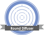 Round Diffuser دریچه های هوا