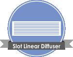 Slot Linear Diffuser دریچه های هوا