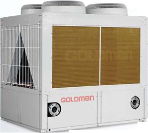 air cooled scroll chillers goldman 1 چیلر هوایی اسکرال گلدمن