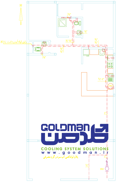 drawing mechanical 01 نقشه خوانی تاسیسات مکانیکی بخش نخست