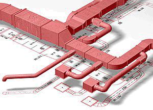 duct design طراحی کانال در ساختمان